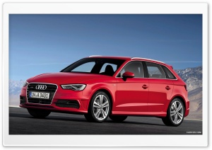 Audi A3 Sportback 2013 HD Wide Wallpaper for 4K UHD Widescreen desktop & smartphone