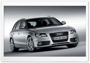 Audi A4 1.8 TFSI S Line Avant 1 HD Wide Wallpaper for Widescreen