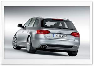 Audi A4 1.8 TFSI S Line Avant Car 2 HD Wide Wallpaper for Widescreen