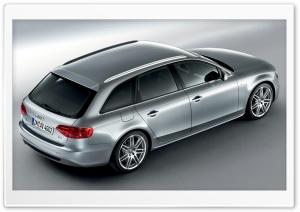 Audi A4 1.8 TFSI S Line Avant Car 3 HD Wide Wallpaper for Widescreen
