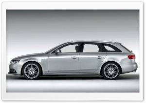 Audi A4 1.8 TFSI S Line Avant Car 5 HD Wide Wallpaper for Widescreen