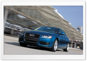Audi A5 3.2 Coupe Us Spec HD Wide Wallpaper for Widescreen