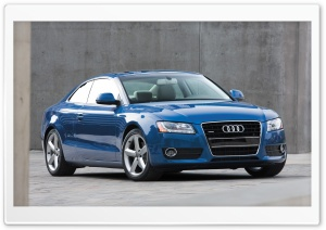 Audi A5 3.2 Coupe Us Spec 2 HD Wide Wallpaper for Widescreen