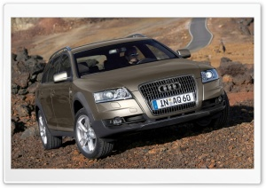 Audi A6 Allroad 3.0 TDI Quattro Car HD Wide Wallpaper for Widescreen