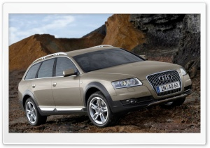 Audi A6 Allroad 3.0 TDI Quattro Car 13 HD Wide Wallpaper for 4K UHD Widescreen desktop & smartphone