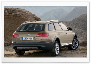 Audi A6 Allroad 3.0 TDI Quattro Car 2 HD Wide Wallpaper for 4K UHD Widescreen desktop & smartphone
