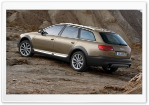 Audi A6 Allroad 3.0 TDI Quattro Car 3 HD Wide Wallpaper for 4K UHD Widescreen desktop & smartphone