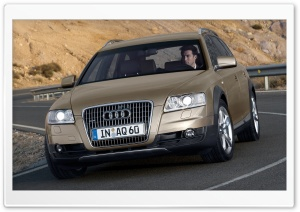 Audi A6 Allroad 3.0 TDI Quattro Car 4 HD Wide Wallpaper for Widescreen