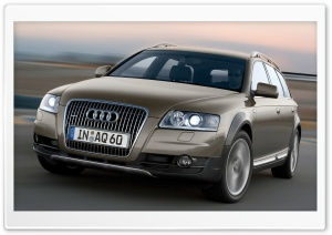 Audi A6 Allroad 3.0 TDI Quattro Car 7 HD Wide Wallpaper for 4K UHD Widescreen desktop & smartphone