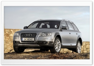 Audi A6 Allroad 4.2 Quattro Car 4 HD Wide Wallpaper for 4K UHD Widescreen desktop & smartphone