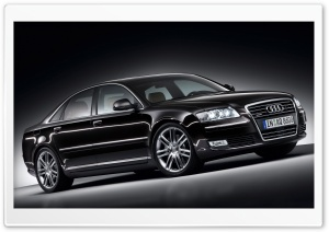 Audi A8 4.2 Quattro Car 3 HD Wide Wallpaper for 4K UHD Widescreen desktop & smartphone