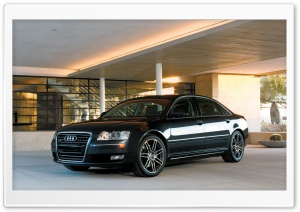 Audi A8 4.2 Quattro Car 8 HD Wide Wallpaper for 4K UHD Widescreen desktop & smartphone
