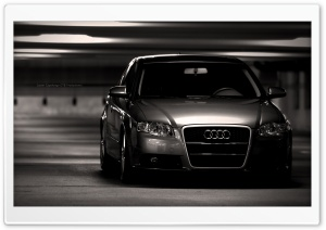 AUDI Black HD Wide Wallpaper for Widescreen