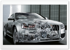 Audi Car HD Wide Wallpaper for Widescreen