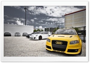 Audi Car 3 HD Wide Wallpaper for Widescreen