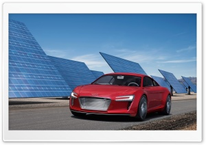 Audi E Tron HD Wide Wallpaper for Widescreen