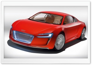 Audi E Tron Car HD Wide Wallpaper for Widescreen