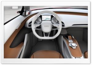 Audi E Tron Car Interior HD Wide Wallpaper for Widescreen
