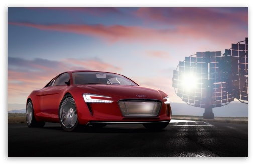 Download Audi E Tron Electric Supercar UltraHD Wallpaper