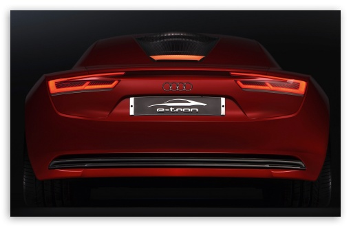 Audi E Tron Rear HD wallpaper for Wide 16:10 5:3 Widescreen WHXGA WQXGA WUXGA WXGA WGA ; HD 16:9 High Definition WQHD QWXGA 1080p 900p 720p QHD nHD ; Standard 3:2 Fullscreen DVGA HVGA HQVGA devices ( Apple PowerBook G4 iPhone 4 3G 3GS iPod Touch ) ; Mobile 5:3 3:2 - WGA DVGA HVGA HQVGA devices ( Apple PowerBook G4 iPhone 4 3G 3GS iPod Touch ) ;