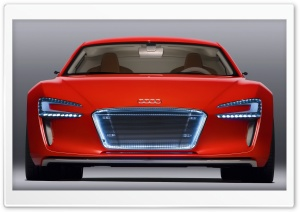 Audi E Tron Supercar HD Wide Wallpaper for Widescreen