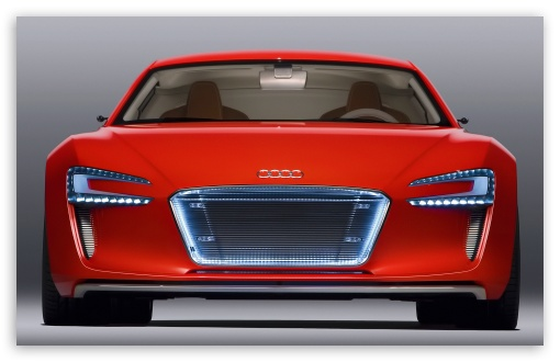 Download Audi E Tron Supercar UltraHD Wallpaper