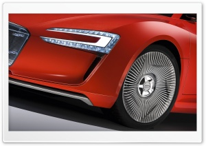 Audi E Tron Wheel HD Wide Wallpaper for Widescreen