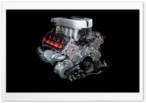 Audi Engine HD Wide Wallpaper for Widescreen