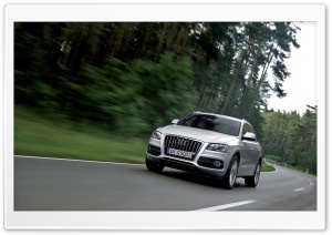 Audi Q5 3.0 TDI Quattro S Line Car HD Wide Wallpaper for Widescreen