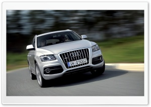 Audi Q5 3.0 TDI Quattro S Line Car 4 HD Wide Wallpaper for Widescreen