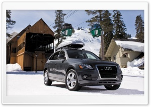 Audi Q5 3.2 Quattro Car 6 HD Wide Wallpaper for Widescreen