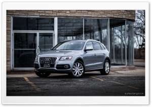 Audi Q5 with Chrome Wheels HD Wide Wallpaper for Widescreen