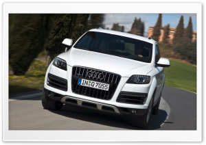 Audi Q7 4.2 TDI Quattro Car HD Wide Wallpaper for Widescreen