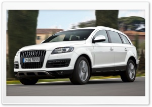 Audi Q7 4.2 TDI Quattro Car 10 HD Wide Wallpaper for 4K UHD Widescreen desktop & smartphone