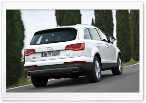 Audi Q7 4.2 TDI Quattro Car 11 HD Wide Wallpaper for 4K UHD Widescreen desktop & smartphone
