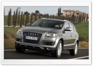 Audi Q7 4.2 TDI Quattro Car 3 HD Wide Wallpaper for 4K UHD Widescreen desktop & smartphone