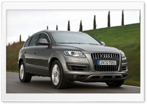 Audi Q7 4.2 TDI Quattro Car 4 HD Wide Wallpaper for 4K UHD Widescreen desktop & smartphone