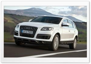 Audi Q7 4.2 TDI Quattro Car 5 HD Wide Wallpaper for 4K UHD Widescreen desktop & smartphone