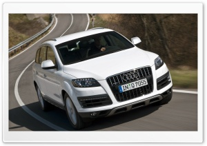 Audi Q7 4.2 TDI Quattro Car 7 HD Wide Wallpaper for 4K UHD Widescreen desktop & smartphone