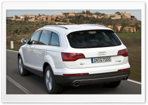 Audi Q7 4.2 TDI Quattro Car 8 HD Wide Wallpaper for 4K UHD Widescreen desktop & smartphone