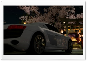 Audi R8 @kyoto - Gion HD Wide Wallpaper for 4K UHD Widescreen desktop & smartphone