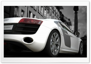Audi R8 HD Wide Wallpaper for Widescreen