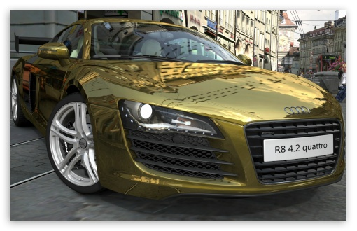 Audi R8 4.2 Quattro Gold HD wallpaper for Wide 16:10 5:3 Widescreen WHXGA WQXGA WUXGA WXGA WGA ; HD 16:9 High Definition WQHD QWXGA 1080p 900p 720p QHD nHD ; UHD 16:9 WQHD QWXGA 1080p 900p 720p QHD nHD ; Mobile 5:3 16:9 - WGA WQHD QWXGA 1080p 900p 720p QHD nHD ;