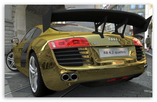 Audi R8 4.2 Quattro Gold ❤ 4K UHD Wallpaper for Wide 16:10 5:3 Widescreen WHXGA WQXGA WUXGA WXGA WGA ; 4K UHD 16:9 Ultra High Definition 2160p 1440p 1080p 900p 720p ; UHD 16:9 2160p 1440p 1080p 900p 720p ; Mobile 5:3 16:9 - WGA 2160p 1440p 1080p 900p 720p ;