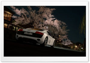 Audi R8 5.2 FSI Quattro '09 HD Wide Wallpaper for Widescreen