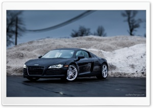 Audi R8 - Tilt Shift Lens HD Wide Wallpaper for Widescreen