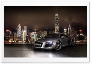 Audi R8 Car 4 HD Wide Wallpaper for 4K UHD Widescreen desktop & smartphone