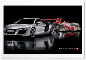Audi R8 Car 6 HD Wide Wallpaper for Widescreen