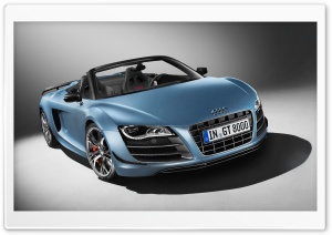 Audi R8 GT Spyder HD Wide Wallpaper for 4K UHD Widescreen desktop & smartphone