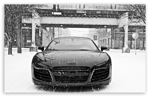 Audi R8 in Snow HD wallpaper for Standard 4:3 5:4 Fullscreen UXGA XGA SVGA QSXGA SXGA ; Wide 16:10 5:3 Widescreen WHXGA WQXGA WUXGA WXGA WGA ; HD 16:9 High Definition WQHD QWXGA 1080p 900p 720p QHD nHD ; Other 3:2 DVGA HVGA HQVGA devices ( Apple PowerBook G4 iPhone 4 3G 3GS iPod Touch ) ; Mobile VGA WVGA iPhone iPad PSP Phone - VGA QVGA Smartphone ( PocketPC GPS iPod Zune BlackBerry HTC Samsung LG Nokia Eten Asus ) WVGA WQVGA Smartphone ( HTC Samsung Sony Ericsson LG Vertu MIO ) HVGA Smartphone ( Apple iPhone iPod BlackBerry HTC Samsung Nokia ) Sony PSP Zune HD Zen ; Tablet 2 ;
